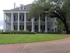 classic Greek Revival plantation house