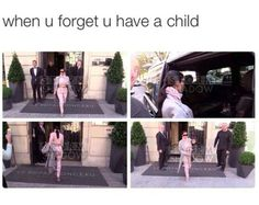 Some People Think Kim Kardashian Actually Forgot North West In A Hotel Funny Cute, The Funny, Hilarious, Stupid Funny, Kardashian Memes, Kim Kardashian, Dankest Memes, Funny Memes, Funny Gags