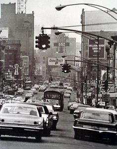 New York City, 1960s.