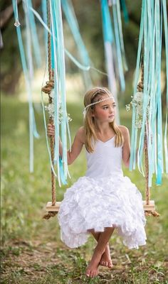 Pixie Girl White Vizcaya Dress                                                                                                                                                     More