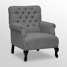Find it at the Foundary - Joussard Beige Linen Club Chair