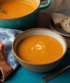 Who says comfort food can't be healthy? Lentil and bacon soup will warm you right to your toes.