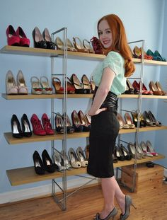woman shoe storage solution gallery
