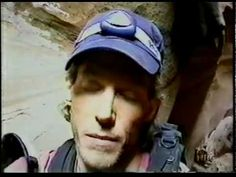 Aron Ralston's Real Video Footage (One Clip - Aron Ralston)
