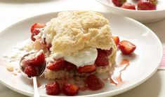 Delicious Strawberry Shortcakes recipe made EZ with Dough EZ dough rolling mat…