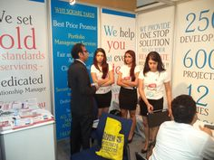 Our Property Stall at Sumansa,Dubai expo 2013 @Square Yards Consulting Pvt. Ltd.