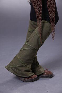 Tribal Patch Leg Warmer by LunaDesignn on Etsy