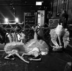 Ballerina Aria Alekzander photo from backstage at the Houston Ballet #dancefashion