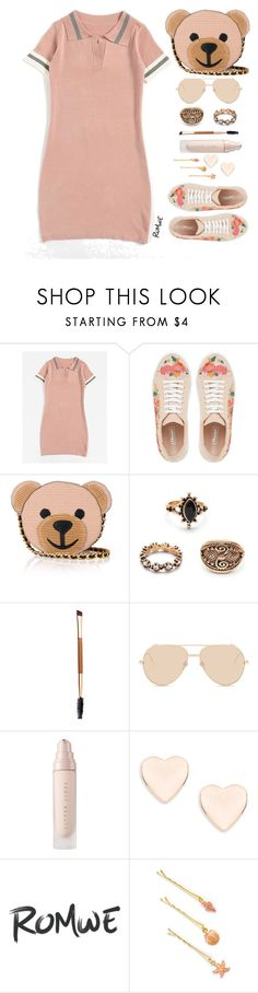 """""""Cute Style"""" by simona-altobelli ❤ liked on Polyvore featuring Dune, Moschino, Linda Farrow, Ted Baker and vintage"""