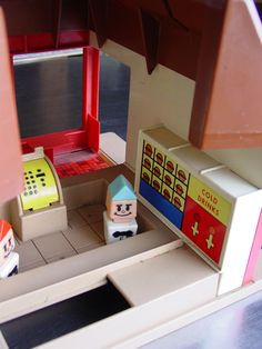 70s Playskool McDonalds Playset - my grandma had this and gave it to us. I wish we still had it.