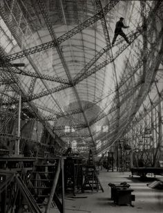 Graf Zeppelin under construction