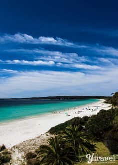 Famous Hyams Beach in Jervis Bay, Australia - see more on the blog!
