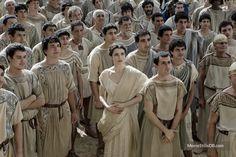 Greece Movie, Troy Movie, Sienna Guillory, Rachel Weisz, Movie Costumes, Bridesmaid Dresses, Wedding Dresses, Ancient Greece, Roman Empire