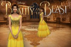 BELLE 2017I got a question a while ago if I would make the yellow dress from the new Beauty and the beast movie - so I did try and here is the result. It is not 100% as in the original in the movie...
