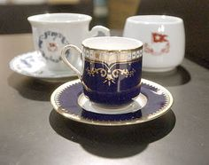 Titanic's different china patterns used between first, second and third class