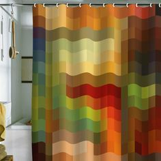 shower curtain colorful - Google Search