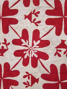 Infinite Variety: 3 centuries of red & white quilts