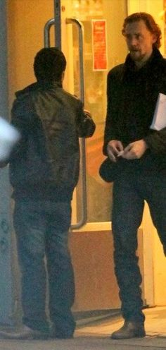 Tom Hiddleston with normal sized human added for scale. (pinned b/c of the comment!)