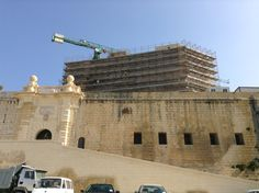 Fort Sant Angelo -Birgu - Malta. MT.R Contracting Ltd . Start work 2014 -