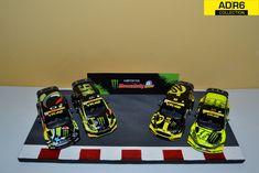 Diorama Valentino Rossi Poker Rally Monza 1/43