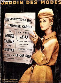 Jardin des Modes 1959 by NylonBleu, via Flickr