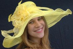 Derby Straw Hats for Women | Derby Hats Must Be Ordered And Shipped Individually To Aid In Careful ...