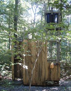 water tower outdoor shower - Google Search