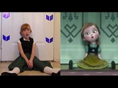 Do You Want To Build a Snowman? - Frozen Cover, Little Anna In Real Life