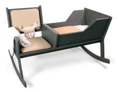 La sedia a dondolo con culla incorporata - sdamy
