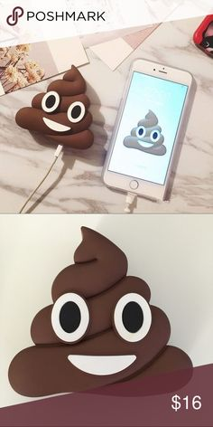 Universal emoji portable charger Universal Emoji Portable Charger  Purchase includes: ✔1 power bank ✔1pcs Micro USB Charging Cord   Battery Capacity: 2,600 mah  For both Android and iOS devices  Emoji cute power bank Accessories Phone Cases