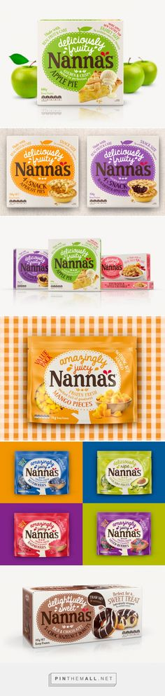 Nanna's Dessert packaging designed by Brand Society - http://www.packagingoftheworld.com/2015/08/nannas.html