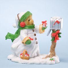 Pris - Sending All My Joy To You - Cherished Teddies Christmas 4023640   ENESCO