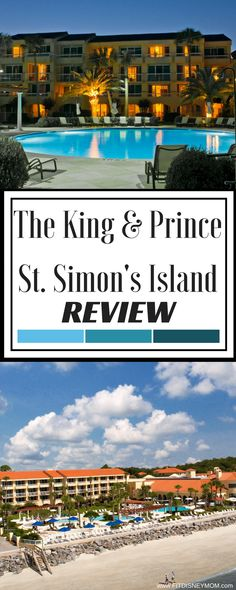 Resort Review: The King and Prince Beach & Golf Resort in St. Simon's Island Georgia. Located on the Golden Isles. #FamilyTravel #Travel
