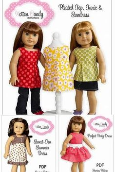 American Girl Doll Clothes Patterns Free Printable - Bing images