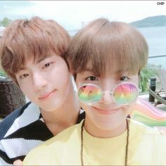 BTS Jin & JHope summer package 2017
