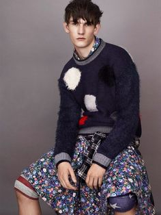 Grungy #Knitwear #Catalogs