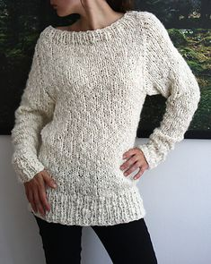 Another cute sweater. Free knitting pattern.