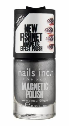 Nails Inc - Magnetic - Soho Fishnet (Chrome)