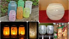10 Stunning DIY Frosted Glass Luminaries