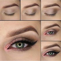 Seven Awesome  Makeup Tutorials For Green Eye