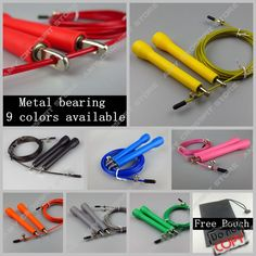 Free pouch 3 Meters METAL BEARING!!  skipping rope / Speed Cable Jump Rope  Crossfit MMA Box home gym -  http://mixre.com/free-pouch-3-meters-metal-bearing-skipping-rope-speed-cable-jump-rope-crossfit-mma-box-home-gym/  #JumpRopes