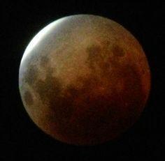 Blood moon eclipse, April 15, 2014