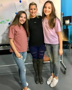 "magicalmaddieziegler: "" jackelynshultz: Thank you @maddieziegler and @kenzieziegler for hanging with me today!!! I had a blast playing #dancehorse with you """