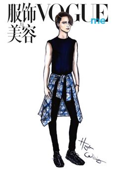 My collaboration with Vogue China featuring Vogue Me's June cover star Brooklyn Beckham