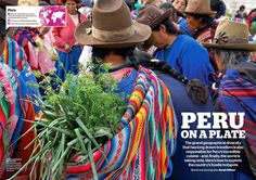 Perú On A Plate   Wanderlust Magazine - May 2013