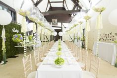 clear balloons wedding - Google Search