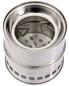 CCJJ  Stainless Steel Outdoor Camping Wood Stove Firewoods *** See this great product by click affiliate link Amazon.com