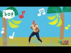 Preschool Learn to Dance: Banana Boogie #MotherGooseTime #DancenBeats - Check out the Banana Boogie sample clip from Dance 'n Beats, music & movement monthly program from Mother Goose Time preschool curriculum. Dance 'n Beats works alone or as an extension to the month's curriculum theme! Learn more here http://www.mothergoosetime.com/dance-and-fitness/