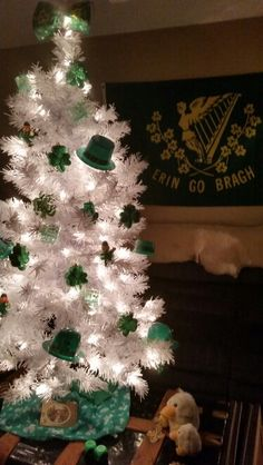 2015 St Patrick's Day tree.