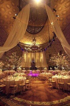Indian Weddings Decoration. this looks so cozy yet majestic